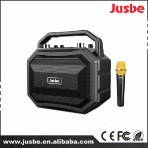 30W Powered Portable Trolley Active Karaoke Speaker pictures & photos
