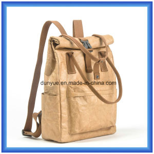 Practical Design Customized DuPont Paper Casual Backpack Bag, Hot Promotion Tyvek Paper Shopping Handle Tote Bag pictures & photos