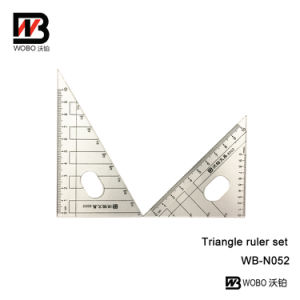 School Triangle Plastic Ruler Set for Office Stationery