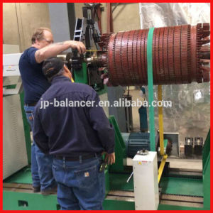 Balancing Machine for Electric Gennerator Rotor pictures & photos