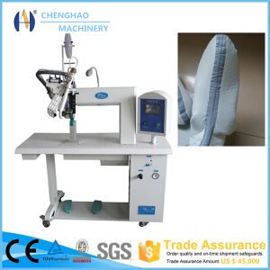 1800W Hot Air Seam Sealing Machine for Raincoat/Shoe Cover/Outdoor Jackets/Suit Sealing pictures & photos