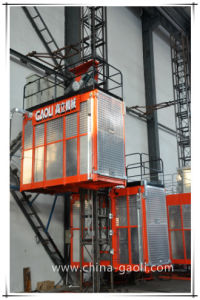 Gaoli Ce & GOST Approved Vertical Transportation Construction Hoist Sc100/100 pictures & photos