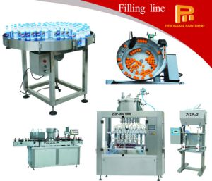 Linear Type Inline Intellectual Servo Viscous Filling Machine pictures & photos