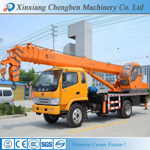 5 Ton Mobile Truck Crane with Ce SGS Certificates pictures & photos