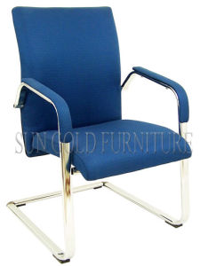 Popular Leisure Style Armchair Modern Fabric Blue Office Chair (SZ-OC151C) pictures & photos