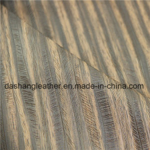 Scratching Resistant Synthetic Leather for Upholstery pictures & photos