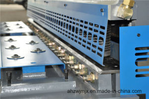 QC11k 6*3200 Hydraulic CNC Guillotine Cutting Shearing Machine