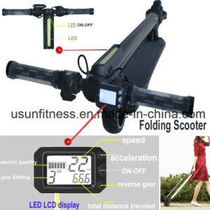 Folding Electric Scooter with Speed Display pictures & photos