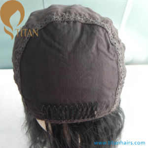 Double Drawn Mogolian Virgin Hair Jewish Hair Wig pictures & photos