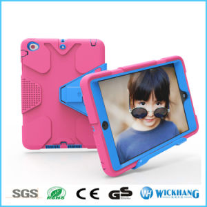 New Hybrid Shockproof Heavy Rubber Stand Case for iPad Samsung Galaxy Tab pictures & photos