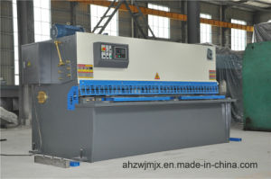 QC12k 12*3200 Hydraulic CNC Swing Cutting Shearing Machine pictures & photos