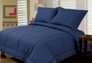 Bedding Set Solid Embossed Comforter Winter Quilt pictures & photos