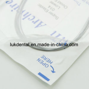 High Quality Azdent Dental Orthodontic Niti Archwire pictures & photos