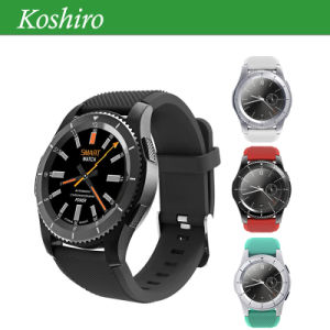 Bluetooth 4.0 Heart Rate Smart Watch with SIM Card Mobile Phone pictures & photos