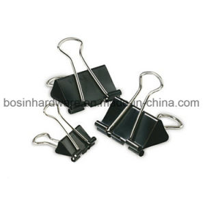 19mm Black Metal Binder Clips Paper Clips pictures & photos