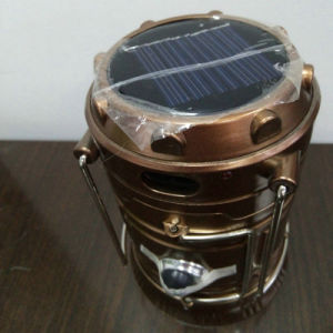 Solar Powered Emergency Light and Rechargeable Camping Light Tent Light pictures & photos