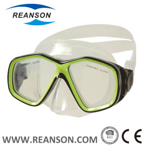 Reanson Hot Item Youth Tempered Glass Diving Snorkeling Mask pictures & photos