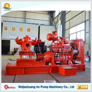 Diesel Engine Large Flow Double Suction Split Case Fire Pump pictures & photos