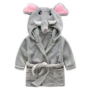 Baby Bathrobe, Animal Pattern Fleece Baby Bath Robe Wholesale pictures & photos