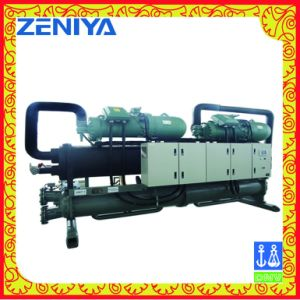Low Temperature Screw Chiller for Freeze Room and Refrigeration pictures & photos