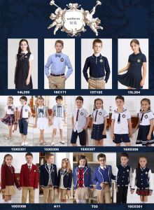 Catalogue for Middle Shool Student Uniform pictures & photos