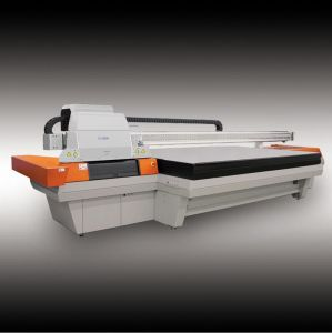 UV Flatbed Printer for Printing Wallpape \ Door Floor \ Ceramic Tile pictures & photos