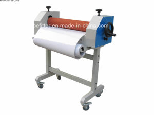 TSS650 Nuptial Dresses 650mm Manual Laminator With Stand pictures & photos