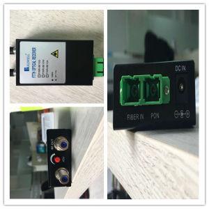 Pon CATV Optical Node Converter FTTH Optical Receiver with Wdm pictures & photos