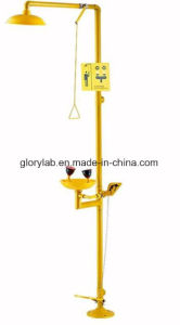 Epoxy Coated Combined Emergency Shower, Eye Wash (JH-EW004E) pictures & photos