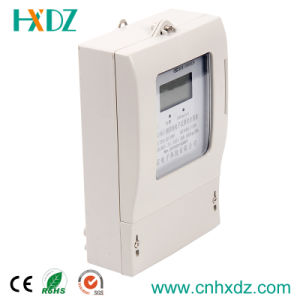 LCD Display Three Phase Energy IC Card Electricity Prepayment Meter pictures & photos