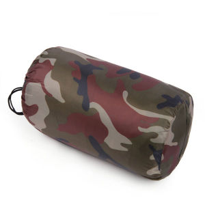 Outdoor Ultralight Camouflage Hollow Cotton Sleeping Bag pictures & photos