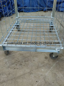 Euro 2017 Foldable Mesh Roll Pallet Roll Container pictures & photos