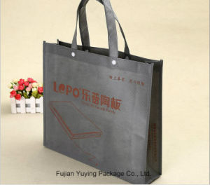 Leaisure Non Woven Handle Shopping Bag with Customized Printing pictures & photos