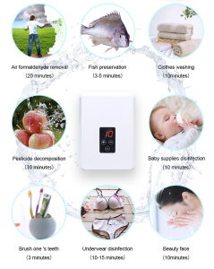 Household Portable Ozone Air Water Purifier Sterilizer 400mg/H Ozone Generator pictures & photos