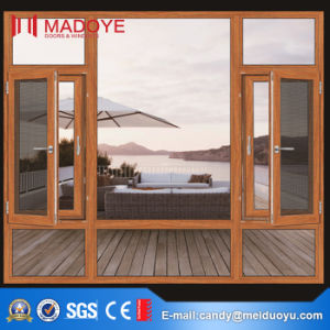 Guangzhou Aluminium Casement Window with Insect Screen pictures & photos