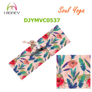 Durable and Popular Microfiber Yoga Mat Graphic Printed Natural Rubber Yoga Mat pictures & photos
