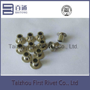 5X6.5mm Nickel Plated Flat Countersunk Head Fully Tubular Steel Rivet pictures & photos