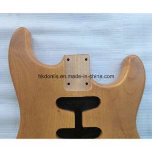 Nitro Finished Aged Nature 2 Piece Alder Strat Guitar Body pictures & photos