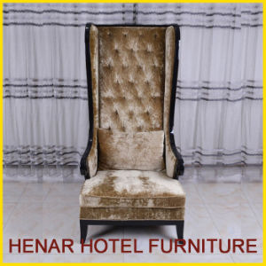 Wooden Frame High Back Sofa for Hotel Lobby pictures & photos