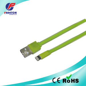 Flat USB Cable for Samsung for iPhone 6 Cable pictures & photos