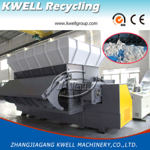 Single Shaft Shredding System, Plastic Recycling Shredder for PE/PP/ABS/PA/PVC pictures & photos