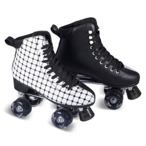 Soft Boot Quad Roller Skate for Adults (QS-45) pictures & photos