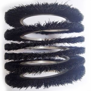 Coil Wound Strip Brush for Industry pictures & photos