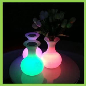 Glowing Furniture LED Flower Vase Decoration Illuminating Vase pictures & photos
