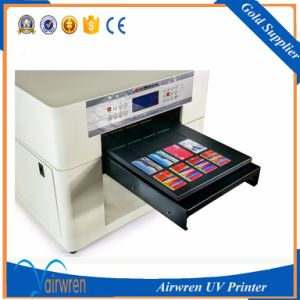 Digital UV Water Bottle Printer A3 Size PVC ID Card Printer pictures & photos