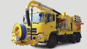 High Pressure Pump Euro 5 Engine Large Volume Sewage Suction Truck pictures & photos