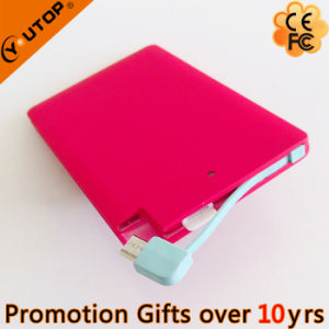 2600mAh Card Power Bank for Mobilephone Gifts (YT-PB29) pictures & photos