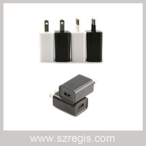 5V / 1A USB Black / White Us / EU Power Adapter pictures & photos