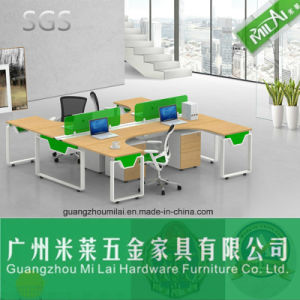 Office Furniture Modular Workstation Table with Fabric Panel pictures & photos