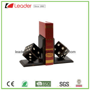 Polyresin Dice Bookend Figurine for Home and Table Decoration pictures & photos
